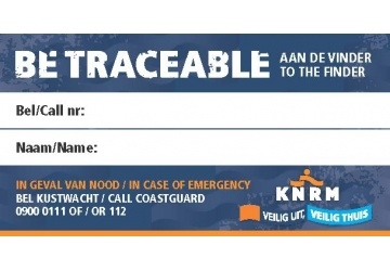 sticker be traceable 2018 afbeelding
